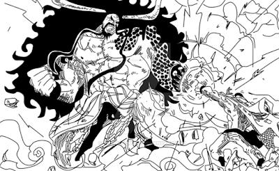 Kaidou VS Shirohige
