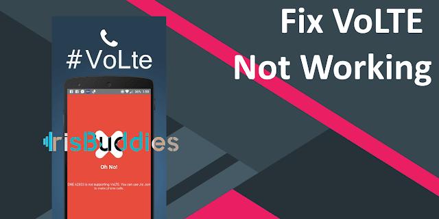 How To Fix Volte Not Working In Mediatek Custom Rom Mt6753/35/35M/37