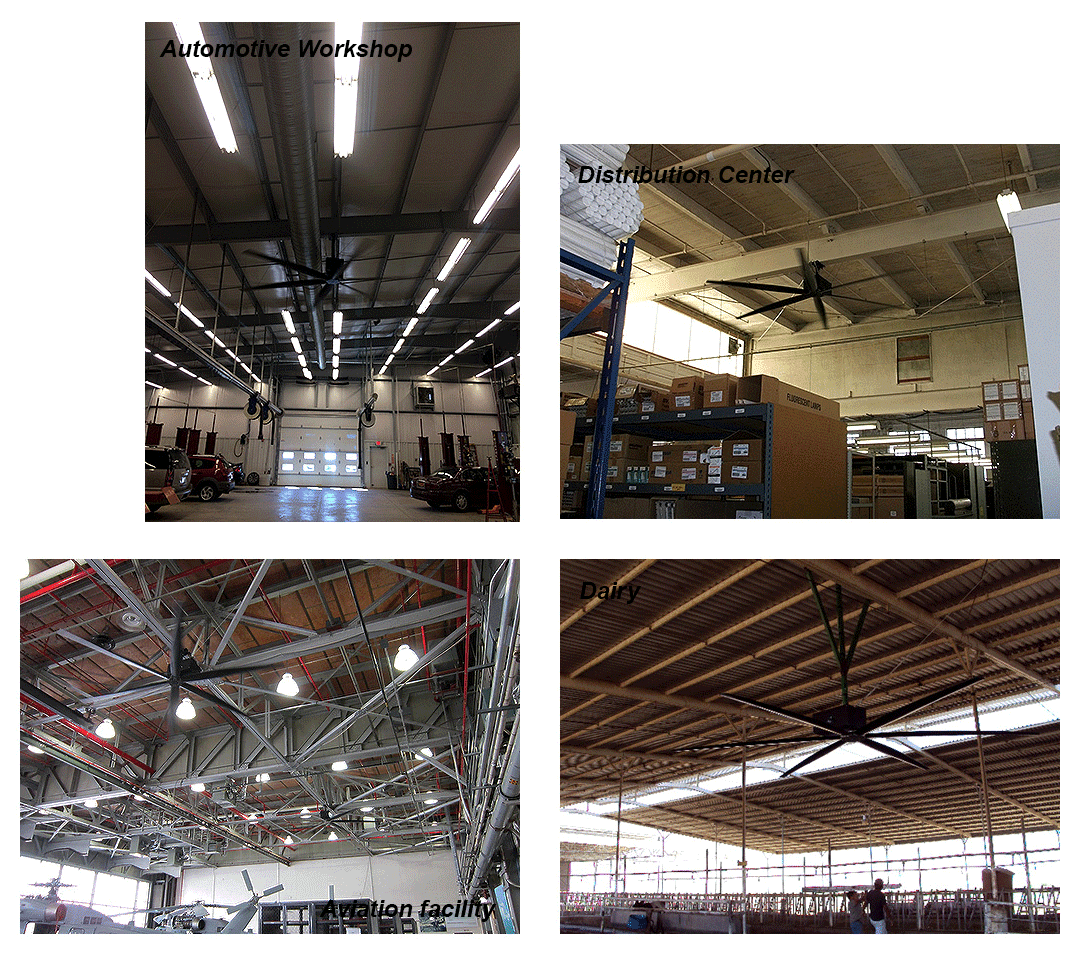 The HVLS Fans blog by AirMotion Sciences