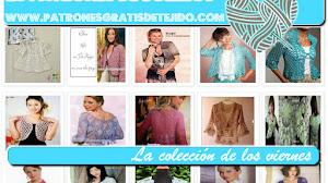 20 Patrones Gratis de Boleros tejidos - Colección de los viernes