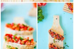 Bruschetta with Balsamic Glaze Recipe