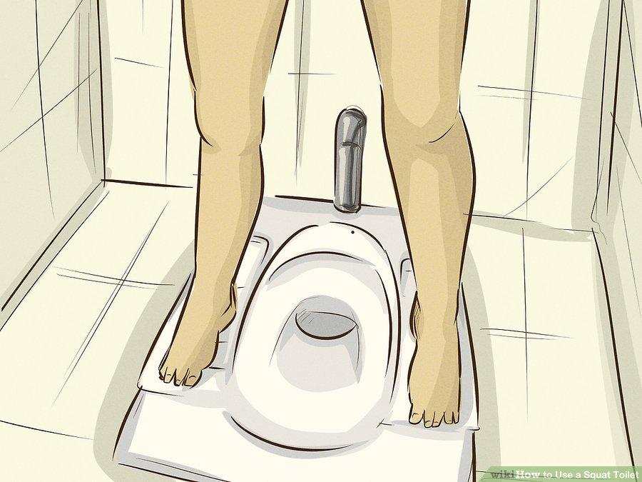 Cách đi vệ sinh ngồi xổm hợp vệ sinh 2018