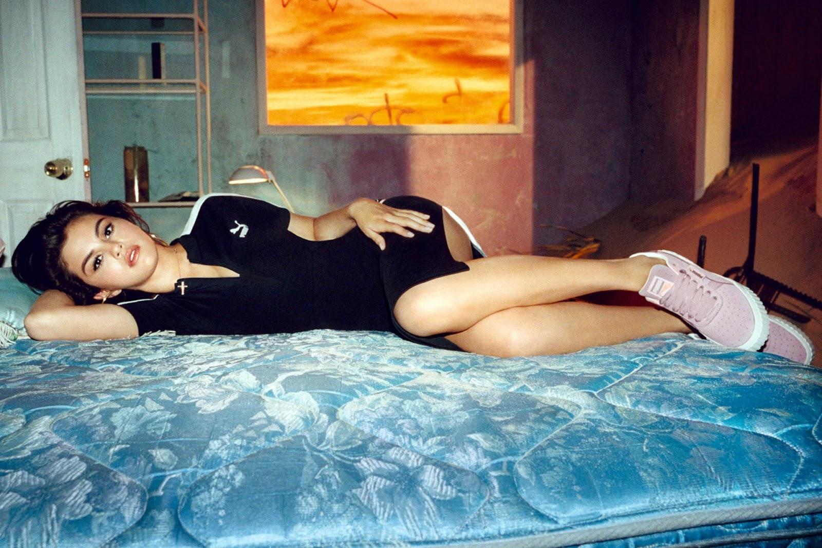 PUMA Cali Nubuck Campaign featuring Selena Gomez