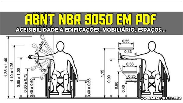 norma abnt nbr 9050 em pdf gratis