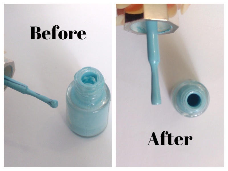 How to rescue a dried out nail polish!