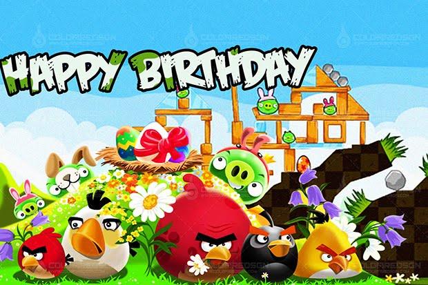 Angry Bird Birthday Design Angry Bird Birthday Design