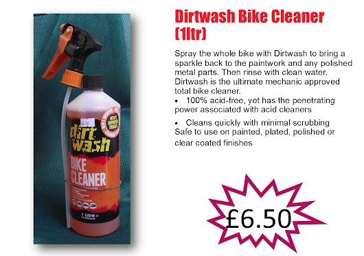 New Range Of Bicycle Cleaners and Lubricants @ Competitive Prices