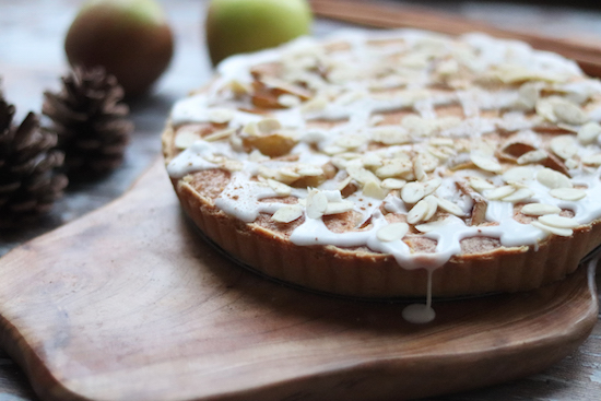 Apple Bakewell tart recipe