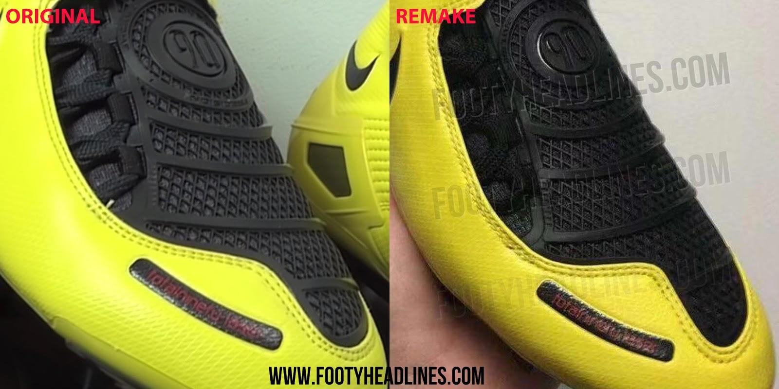 Nike Total 90 Laser I Fussballschuhe 2019 Remake Vs 2007