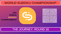 12th World Sudoku Championship 2017 | The Journey