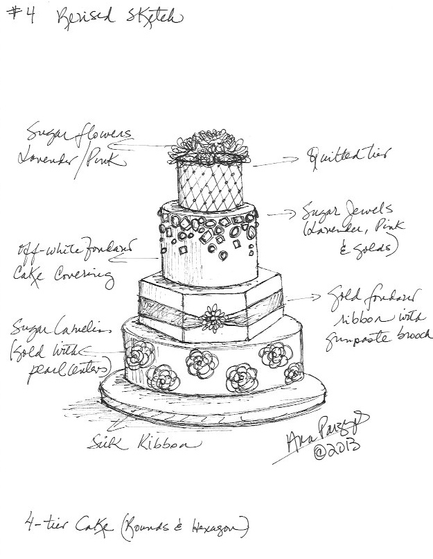 For the Love of Cake! by Garry & Ana Parzych: Custom ...