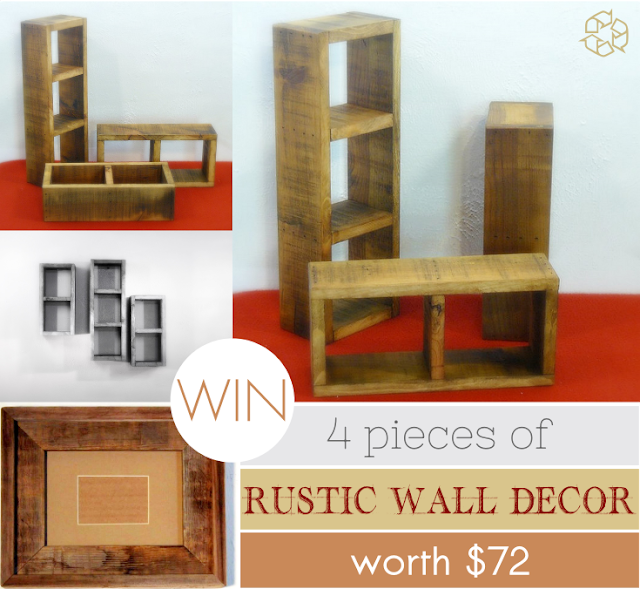Inject Warmth Into Your Home With Reclaimed Wood Wall: Kanelstrand: Barnwood4u Giveaway