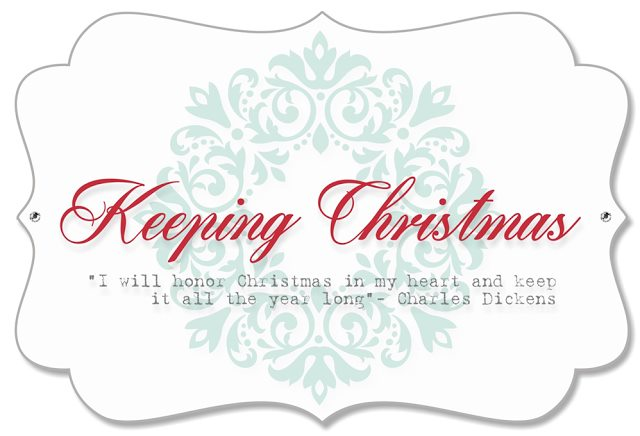Keeping Christmas Blog Hops