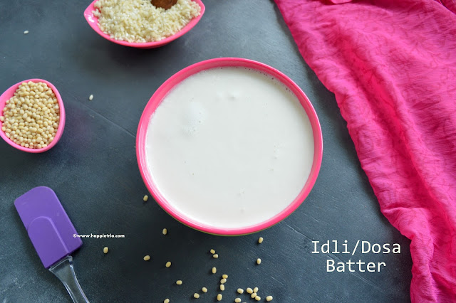 how to prepare Idli/dosa Batter