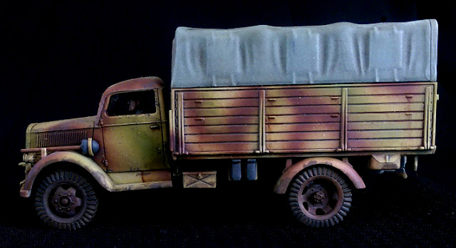 1/56 Rubicon Models Opel Blitz Panzer Lehr Truck