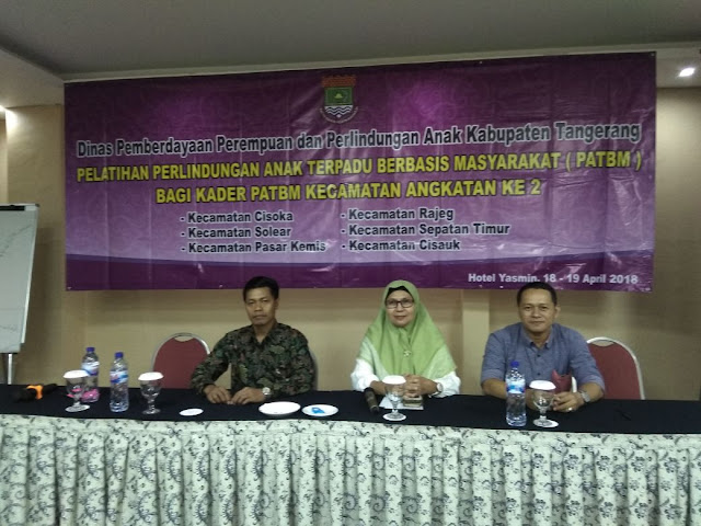 Pelatihan Perlindungan Anak DP3A di Kabupaten Tangerang