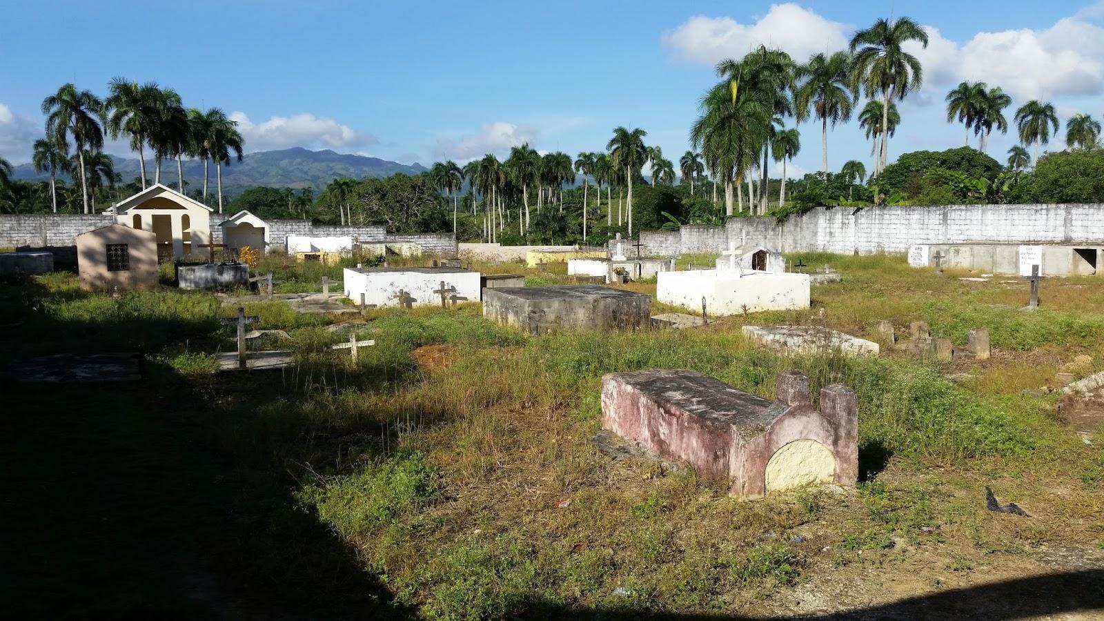 Dominikana Cmentarz w wiosce La Seiba