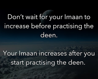 Practicing The Deen