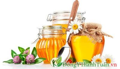 Bài thuốc chữa viêm họng bằng mật ong