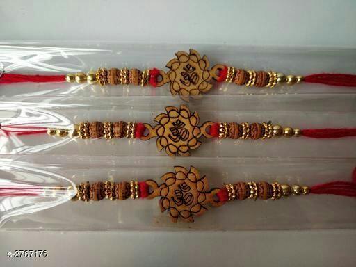 Fancy Thread Rakhis Combo