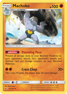 Machoke Guardians Rising Pokemon Card