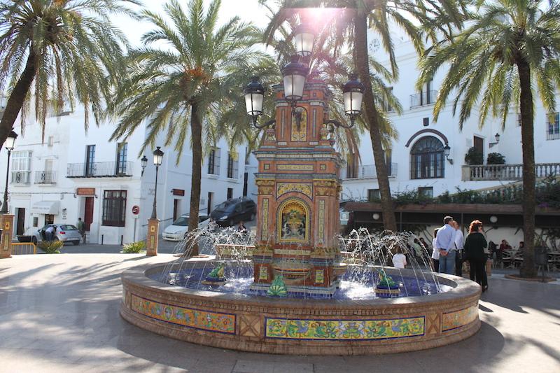 schöner Brunnen in Spanien