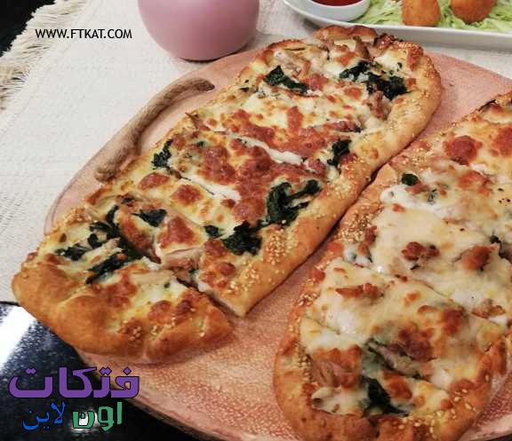 طريقة عمل البيتزا التركي