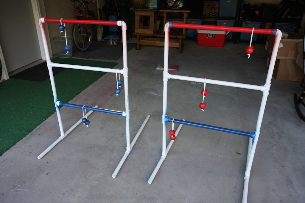 The Chad Experience Build Your Own Ladder Golf Set Using