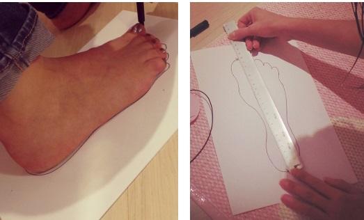 Cara Mengukur Kaki untuk Menentukan Ukuran Sepatu ...