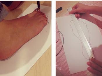 Cara Mengukur Kaki untuk Menentukan Ukuran Sepatu