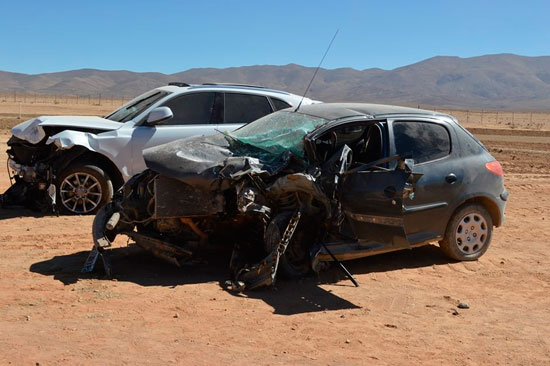Dos muertos en grave accidente sobre Ruta Nacional 9