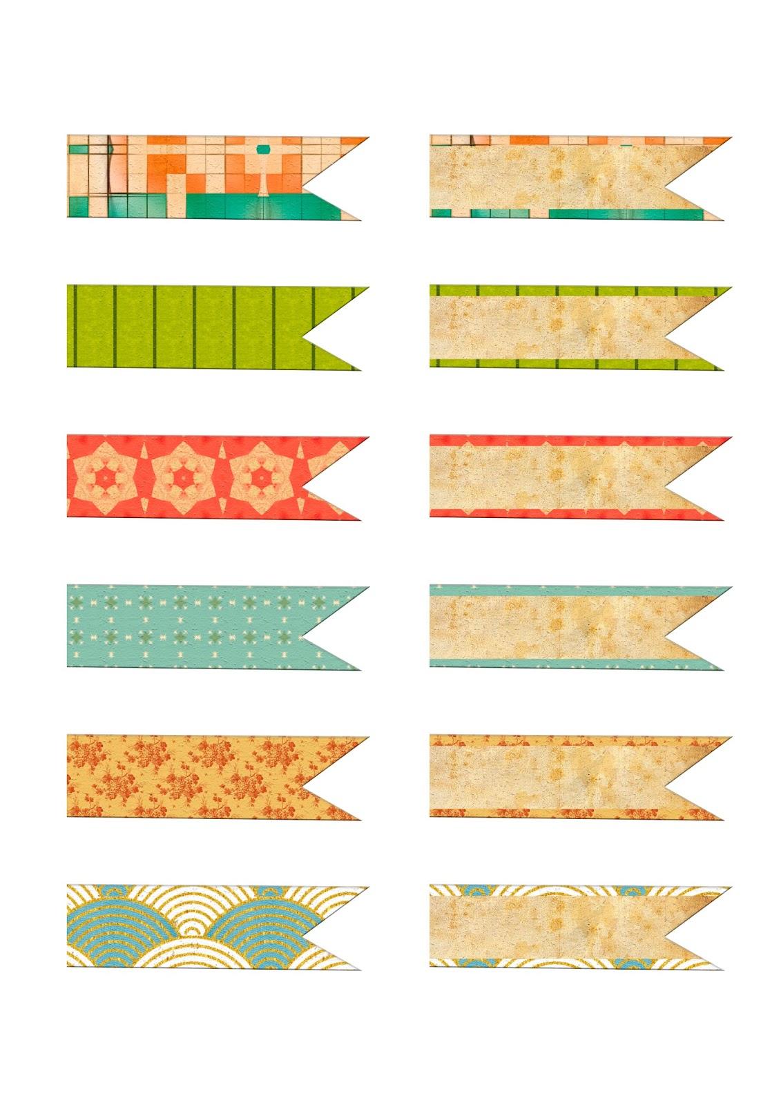 Trocitos de cinta imprimibles gratis para scrapbooking y - Paginas web de decoracion ...