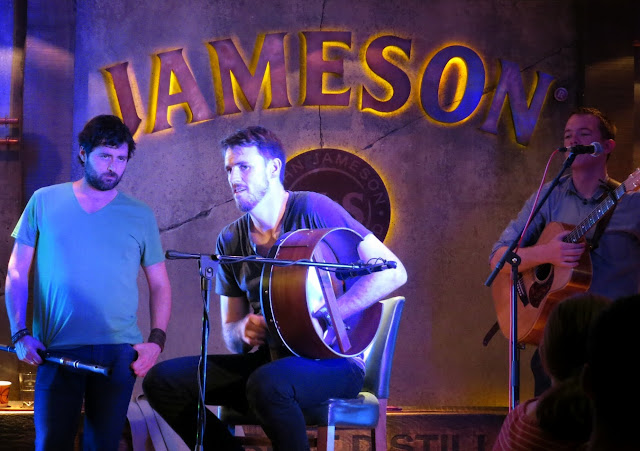 Sine Metu performs at the Jameson Distillery