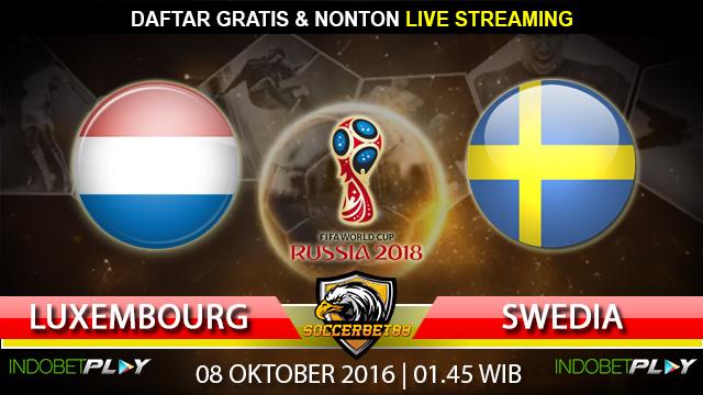 Prediksi Luxembourg vs Swedia 08 Oktober 2016 (Piala Dunia 2018)