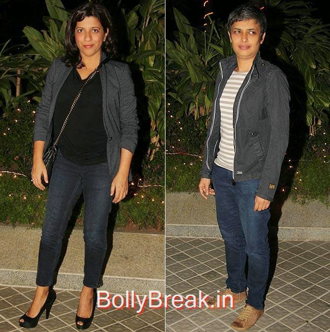 Zoya Akhtar and Reema Kagti, Bollywood Celebrities At Farah Khan's GRAND 50th Birthday Party