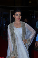 Samantha Ruth Prabhu cute in Lace Border Anarkali Dress with Koti at 64th Jio Filmfare Awards South ~  Exclusive 058.JPG