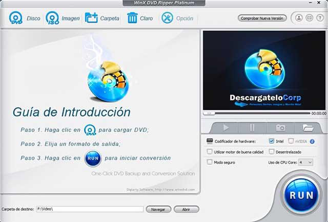 WinX DVD Ripper Platinum Español Full