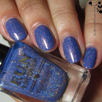 swatch of Happy Ending nail polish by F.U.N. Lacquer