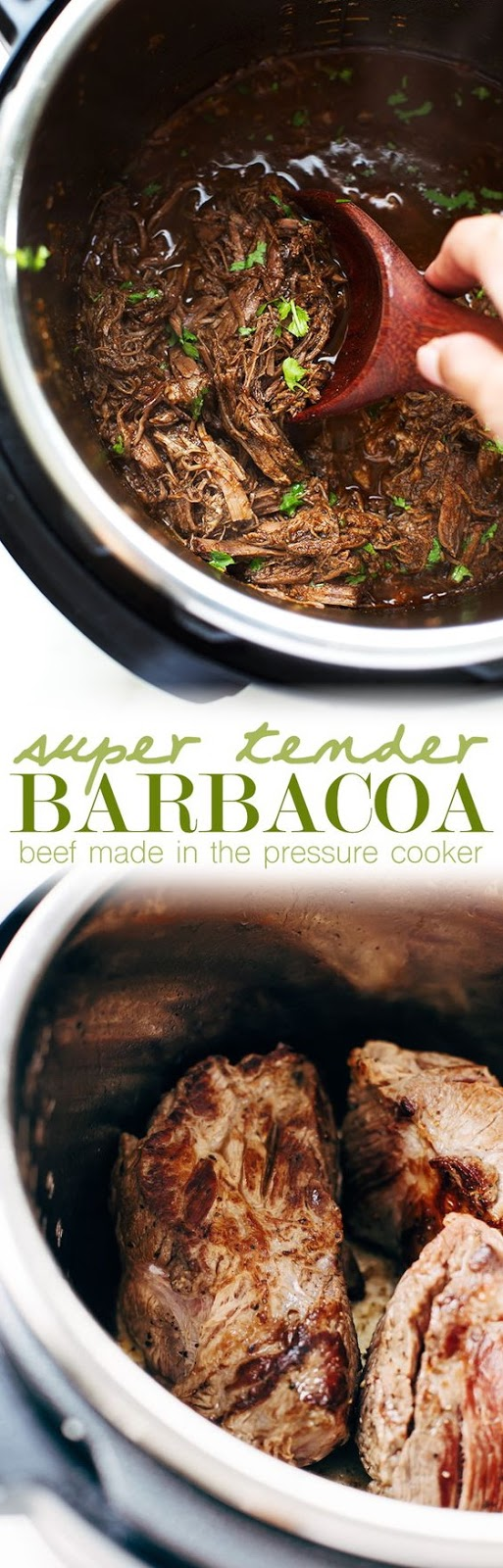 Pressure Cooker Barbacoa Beef