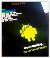 Samsung Galaxy J1 Ace download mode