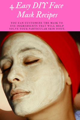 How to make a facial mask at home with ingredients like banana, avocado and egg.