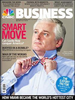 InstaForex Malaysia - Majalah CNBC Business (April, 2011)