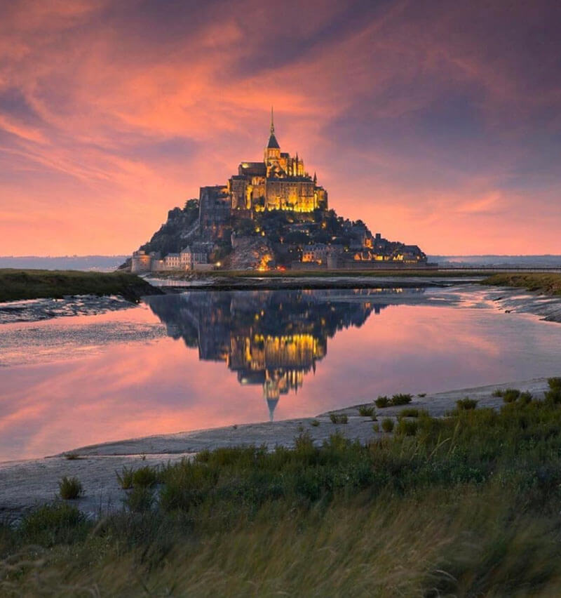 32 Stunning Places on Earth You Should Visit Before You Die - Mont Saint-Michel, France