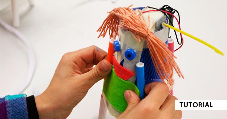 Fabrica tu robot reciclado