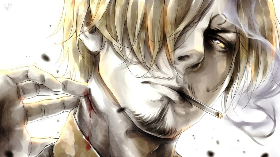 Sanji Smoking One Piece 4k Wallpaper 6 132