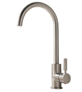 Comllen Single Handle and Single Lever Stainless Steel Kitchen Faucet