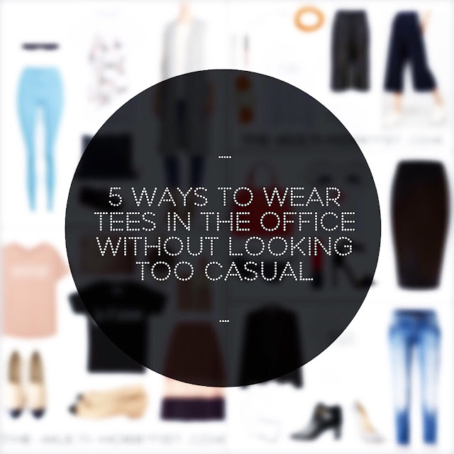 5 Ways To Wear Tees In The Office Without Looking Too Casual