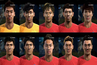 Facepack South Korea National Team Pes 2013