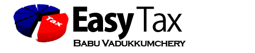 Easy Tax - Babu Vadukkumchery