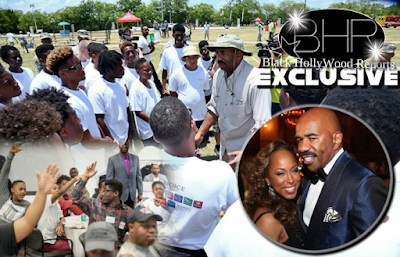BHR Shines The Spotlight And Congratulates The Steve And Marjorie Harvey Foundation For Giving Back To The Community